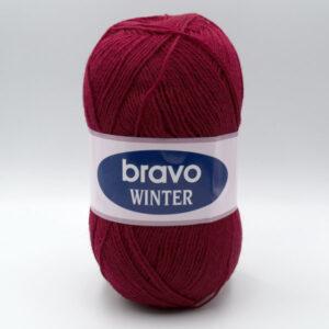 Пряжа Bravo Winter 6207 бордо