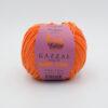Пряжа Gazzal Baby Love 1602 оранжевый 12023