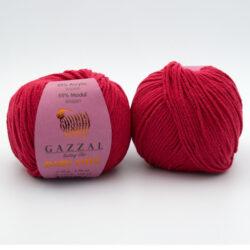 Пряжа Gazzal Baby Love 1604 красный