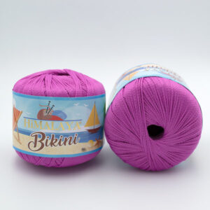 Пряжа  Himalaya Bikini 80604 ярко-розовый