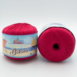 Пряжа  Himalaya Bikini 80607 красный