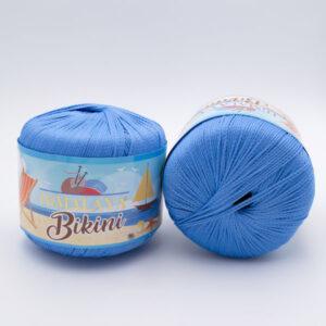 Пряжа Himalaya Bikini 80608 сине-голубой