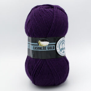 Пряжа Madame Tricote Cashmere Gold 060 фиолетовый