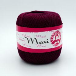 Пряжа Madame Tricote Maxi 5537 бордо