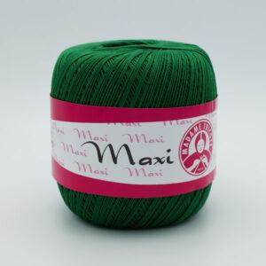 Пряжа Madame Tricote Maxi 5542 темно-зеленый