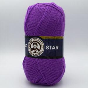 Пряжа Madame Tricote Star 059 яркая сирень