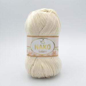 Пряжа Nako Solare 3782 молочный