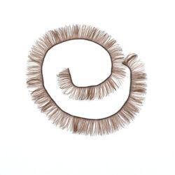 Реснички для кукол и игрушек 10 мм коричневые