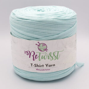 Трикотажная пряжа ReTwisst T-Shirt Yarn нежная бирюза