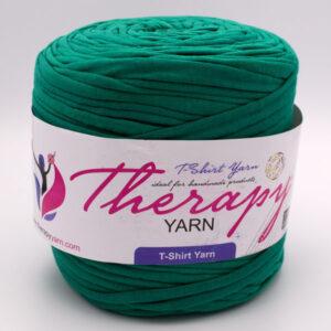 Трикотажная пряжа Therapy Yarn изумруд