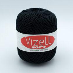 Пряжа Vizell Soft 940 черный