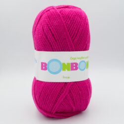 Пряжа Nako Bonbon Ince 98403 ярко-розовый