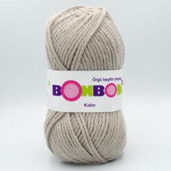 Пряжа Nako Bonbon Kalin 98330 бежево-серый