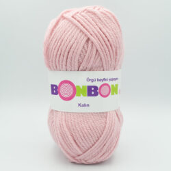 Пряжа Nako Bonbon Kalin 98418 розовая пудра