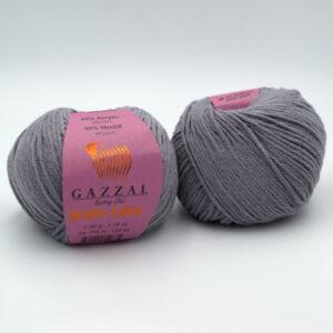 Пряжа Gazzal Baby Love 1618 серый