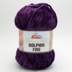 Пряжа плюшевая Himalaya Dolphin Fine 80514 фиолетовый