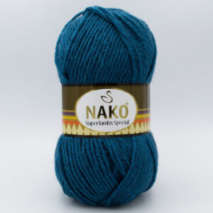 Пряжа Nako Superlambs Special 23463 петроль