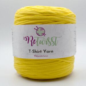 Трикотажная пряжа ReTwisst T-Shirt Yarn желтый