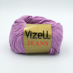 Пряжа Vizell Jeans 303 сиреневый