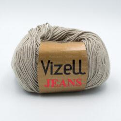 Пряжа Vizell Jeans 385 зелено-серый