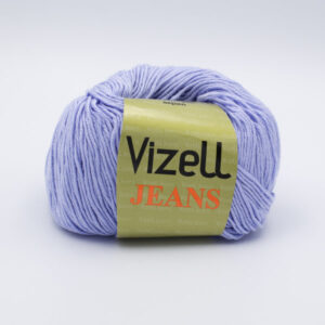 Пряжа Vizell Jeans 540 голубой