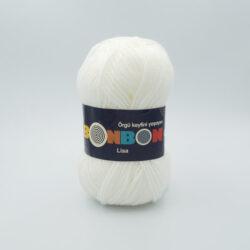 Пряжа Nako Bonbon Lisa 98200 белый