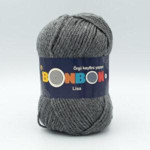 Пряжа Nako Bonbon Lisa 98242 серый