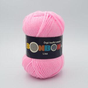 Пряжа Nako Bonbon Lisa 98588 розовый