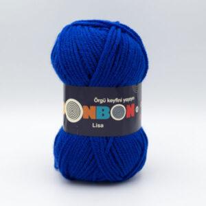 Пряжа Nako Bonbon Lisa 98599 синий