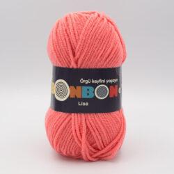Пряжа Nako Bonbon Lisa 98649 коралл