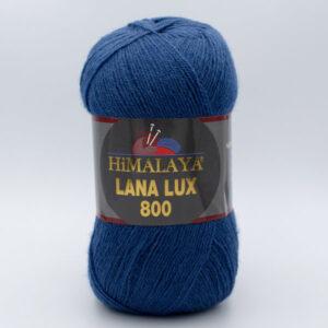 Пряжа Himalaya Lana Lux 800 74625 темно-синий джинс