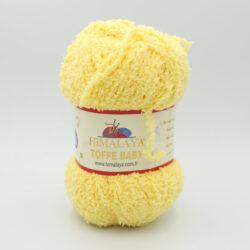 Пряжа плюшевая Himalaya Toffee Baby 78103 нежно-желтый