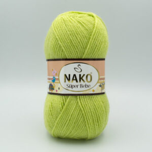 Пряжа Nako Super Bebe 5819 салатовый