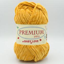 Пряжа Premium Baby Love 330 горчичный