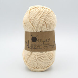 Пряжа Vizell Naturel Cotton молочно-бежевый