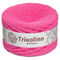 Пряжа трикотажная Trikolino 100м 7-9мм Розовый фламинго 300343