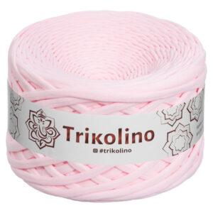 Пряжа трикотажная Trikolino 100м 7-9мм Розовый жемчуг 400237