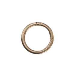 Кольцо-карабин 3.5 см золото