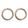 Кольцо-карабин 4.5 см золото 13670
