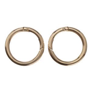 Кольцо-карабин 4.5 см золото