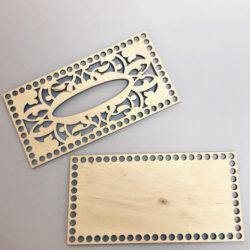 Набор для салфетницы 12×23 см