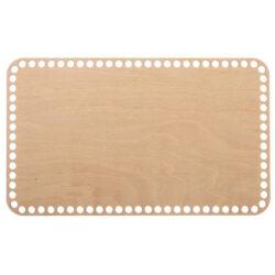 Донышко из фанеры прямоугольное 18×30 см