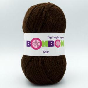 Пряжа Nako Bonbon Kalin 98219 шоколад