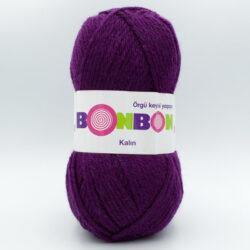 Пряжа Nako Bonbon Kalin 98585 фиолетовый