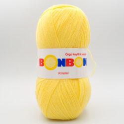 Пряжа Nako Bonbon Kristal 98210 желтый