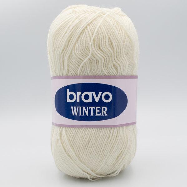 Пряжа Bravo Winter 11 молочный