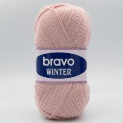 Пряжа Bravo Winter 11060 розовая пудра
