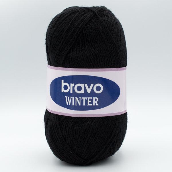 Пряжа Bravo Winter 13 черный