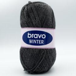 Пряжа Bravo Winter 6211 темно-серый