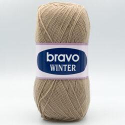 Пряжа Bravo Winter 6215 бежевый